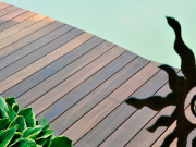 BAWART Terrassendielen, Ipe/Lapacho, gehobelt, roh