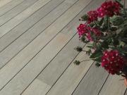 BAWART Terrassendielen Eiche, angeräuchert, weiß geölt